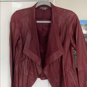 VINCE 100% Leather Jacket. NEVER worn!!